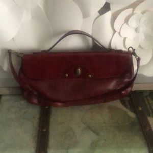 Cole Haan small purse work handle and strap